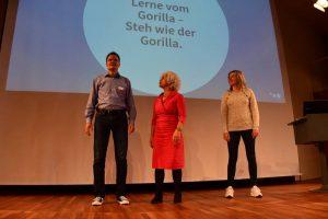 eva loschky gorilla uebung freiburger mittelstandskongress